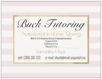 Private Mobile/in Home Math & Science Tutor (inc.Physics)