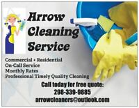 Residential + Commercial Cleaning Services