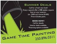 Painter for hire, awesome summer deals!!