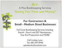 A+ Bookkeeping Services