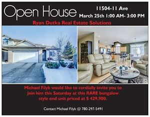 Open House Saturday March 25th @ 1-3PM in Rutherford