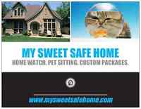 HOME SITTING + PET SITTING + CLEANING SERVICES