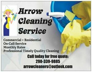 Residential + Commercial Cleaners wanted!