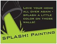 We LOVE to paint and it shows!