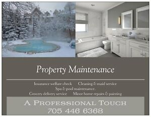 Property Maintenance. The Blue Mountains Area