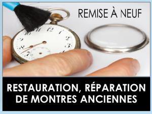 Remplacement de Couronne et cristal pour montres!