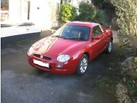 MGF/MGTF hard top British motor heritage - hard top only not the car