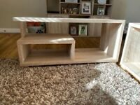 2 x Apollo Coffee table - oak effect