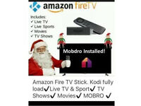 Amazon Fire Stick TV Fully Loaded With Kodi 16.3 and Mobdro