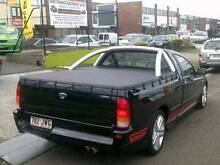 2006 Ford XR6 BF Ute 5 SPD MANUAL IN BLACK $9990 FINANCE TODAY ! Woodridge Logan Area Preview