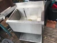 Catering equipment commercial stainless steel pot wash deep sink basins
