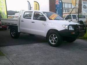 2009 Toyota Hilux 4X4 TURBO DIESEL $19990 FINANCE WITH US NOW ! Woodridge Logan Area Preview