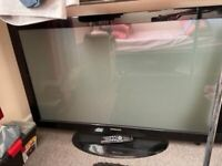 Samsung 50 inch HD Ready Free view Plasma TV collection only L10. TV quite heavy.