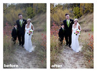 Retouching of your photographs