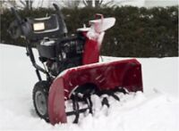 Free pick up and delivery Snowblower Repair
