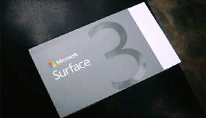 Brand New Sealed Microsoft surface 3