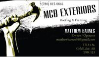 MCB Exteriors framing crew for hire