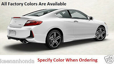 Genuine OEM Honda Accord 2Dr Cpe Rear Under Body Spoiler Kit 2016 - 2017