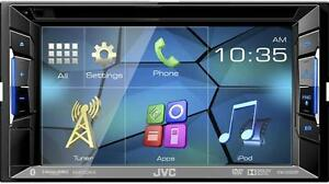 JVC KW-V220BT DVD receiver - BLUETOOTH SiriusXM Ready