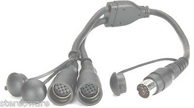Rockford Fosgate PMXYC Y-Cable Y-cable for PMX-1R or PMX-0R remotes NEW