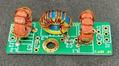 6 M Band Pass Filter Built Tested