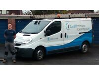 WINDOW CLEANERS/CLEANING/GUTTER CLEANING SERVICES CARDIFF