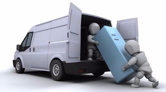 Transport and removal services with long van