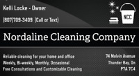 Nordaline Cleaning Company