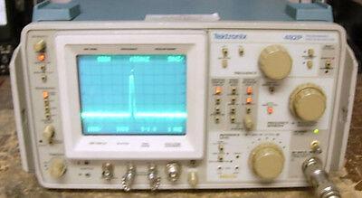 Tektronix 492p Tek 492 Spectrum Analyzer Opt 12 Gpib Works