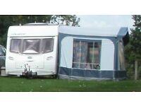 Dorema caravan awning Calypso blue size 12 good condition