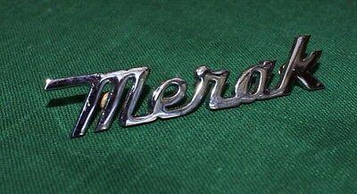 Maserati Merak Neu Fabrik Schrift gebraucht kaufen  Versand nach Germany