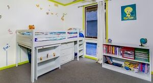 Kids bunk bed with Study desk plus shelving unit Hoppers Crossing Wyndham Area Preview
