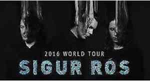2 tickets to Sigur Ros September 18 - SOLD OUT SHOW