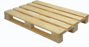 Cement Blocks and Wooden Pallets