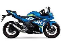 2017 SUZUKI GSX-R 250 GSX250R, MOTO GP - METALLIC TRITON BLUE, BRAND NEW!