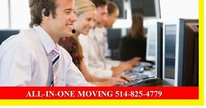 Moving $45/HR 2 MEN Montreal Region, Best Toronto, Calgary & BC