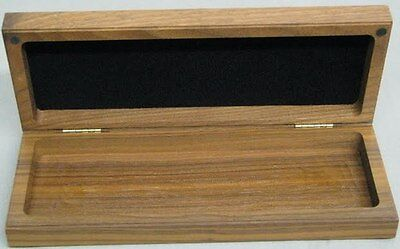 Buck Knife Display Only Walnut Wood Box Old Stock