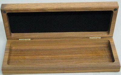 Buck Knife Display Only Walnut Wood Box Old Stock
