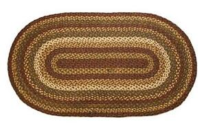 COUNTRY-PRIMITIVE-TEA-CABIN-100-NATURAL-JUTE-BRAIDED-OVAL-RUG-36-x-60