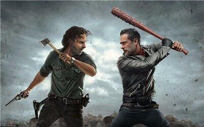 "The Walking Dead Season 8 TV Series Art Silk Poster 40""x24"" inch  008"