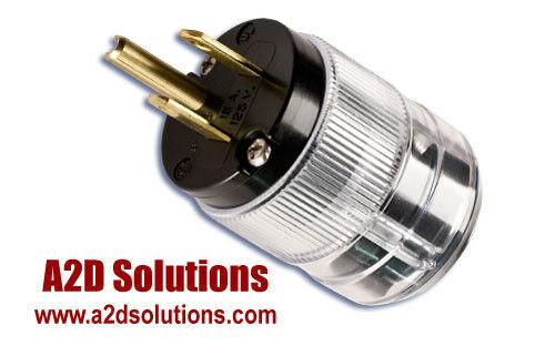 Wattgate 5266i Clear Power Plug