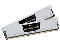 Corsair CML8GX3M2A1600C9W Vengeance Low Profile 8GB (2x4GB) DDR3 1600 Mhz