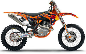 N-Style 2013 Factory KTM Team Graphic Kit N40-5667
