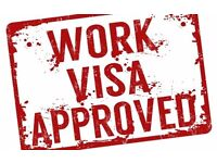 Affordable - Work Permits - UK, USA, Australia, Canada and many more Countries