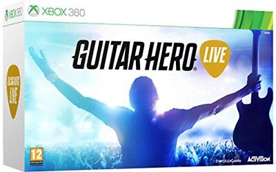 Guitar Hero Live with Guitar Controller Xbox 360 for sale  Shipping to Ireland
