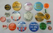Pin Button Lot