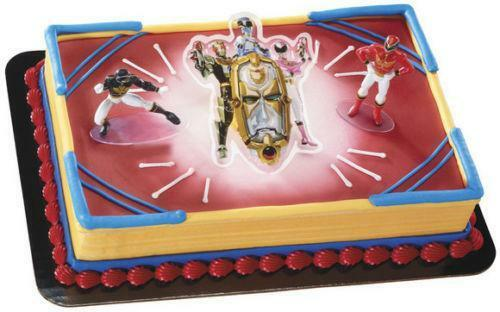 Power Rangers Cake Topper Ebay