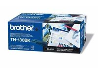 4 Genuine Brother TN130C/130m/130bk/130y Toner Cyan(1,500 and 2500 pages*) - New