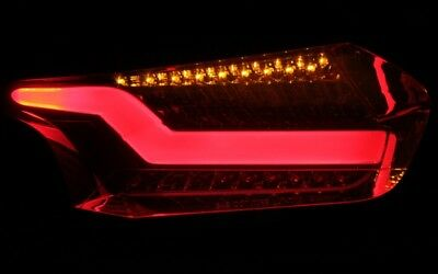 LED BAR RÜCKLEUCHTEN FORD FOCUS MK3 FACELIFT SMOKE BLACK SCHWARZ TOP DESIGN
