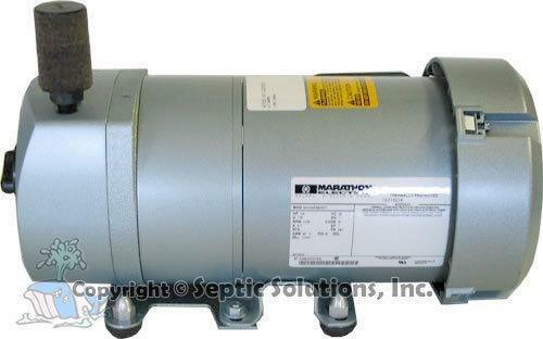 Gast air pump ebay for Rotary vane air motor